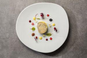 Terrina de foie – marbre de higo cocido en Malvasia